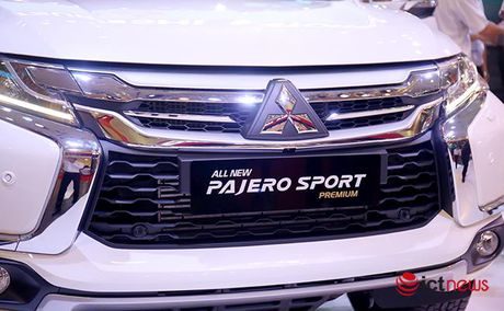 Chi tiet Mitsubishi Pajero Sport Premium vua cap ben Viet Nam - Anh 21