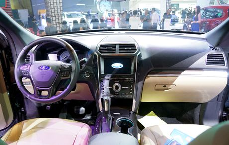 Chi tiet Ford Explorer 2017 tai VN: Manh me, dam chat My - Anh 1