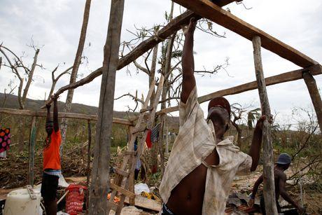 Canh tan hoang nhu thoi chien o Haiti sau bao Matthew - Anh 8