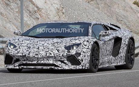 Lamborghini Aventador 2018 lo dien tren duong thu - Anh 6