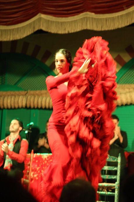 Thuong thuc vu dieu Flamenco nong bong o Tay Ban Nha - Anh 4