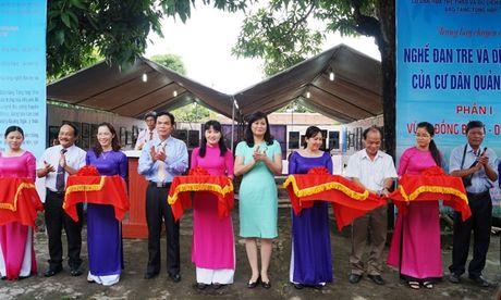 Trung bay 'Nghe dan tre va det chieu cua cu dan Quang Ngai' - Anh 1