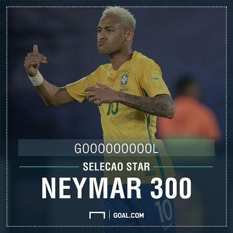 Brazil 5-0 Bolivia: Neymar bi danh chay mau trong ngay ghi ban thu 300 trong su nghiep - Anh 1