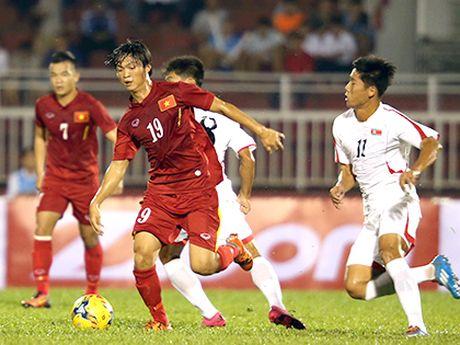 Xuan Truong duoc bao Han chon la cau thu xuat sac nhat tran Viet Nam - Trieu Tien - Anh 1