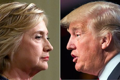 Ba Clinton ong Trump chuan bi 'tai dau': Phan cong hay chung ket som? - Anh 1