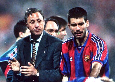 Pep Guardiola noi gi ve Johan Cruyff? - Anh 2