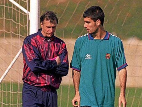 Pep Guardiola noi gi ve Johan Cruyff? - Anh 4