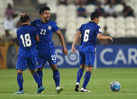 Thua dang tiec UAE, Thai Lan van trang tay o vong loai World Cup 2018 - Anh 1