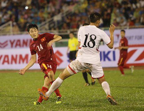 DT Viet Nam dai thang Trieu Tien: Tuan Anh, Xuan Truong va dau an HAGL - Anh 2