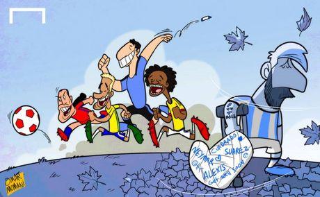 Biem hoa 24h: 'Messi' bien thanh CDV Real - Anh 1