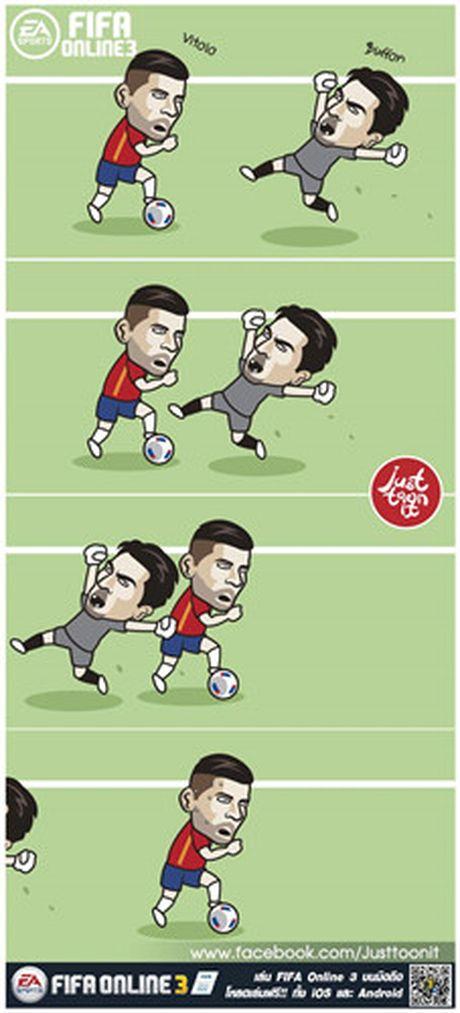 Biem hoa 24h: 'Messi' bien thanh CDV Real - Anh 4