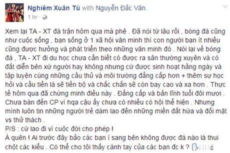 Tien ve 'hut' cua DT Viet Nam het loi khen ngoi Tuan Anh, Xuan Truong - Anh 1