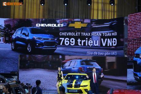 'Chot gia' 769 trieu - Chevrolet Trax 2017 tai VN co gi? - Anh 10
