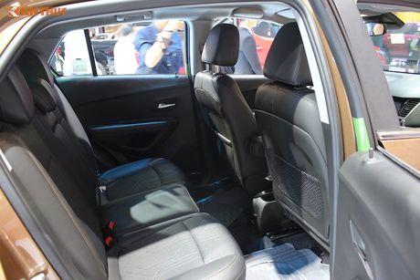 'Chot gia' 769 trieu - Chevrolet Trax 2017 tai VN co gi? - Anh 6