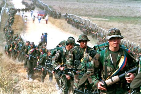 Chum anh ve cuoc noi day cua FARC o Colombia - Anh 1