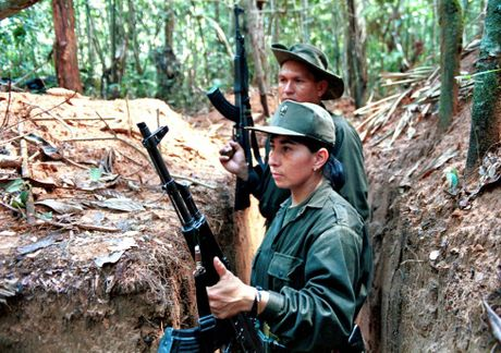 Chum anh ve cuoc noi day cua FARC o Colombia - Anh 2