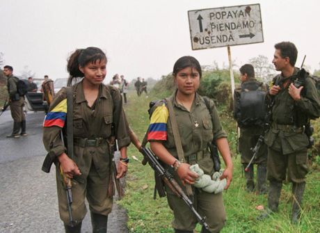 Chum anh ve cuoc noi day cua FARC o Colombia - Anh 7