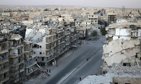 Toan canh Aleppo tan hoang sau hai tuan hung mua bom bao dan - Anh 4