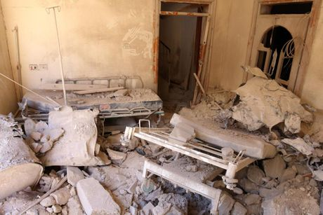 Toan canh Aleppo tan hoang sau hai tuan hung mua bom bao dan - Anh 6