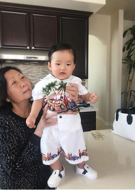 Ngoc Quyen hanh phuc khoe anh ben chong con o My - Anh 7