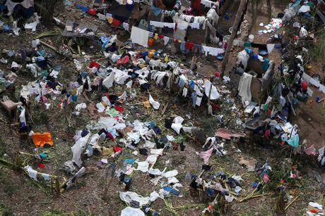 Haiti tan hoang sau sieu bao Matthew nhin tu tren cao - Anh 5