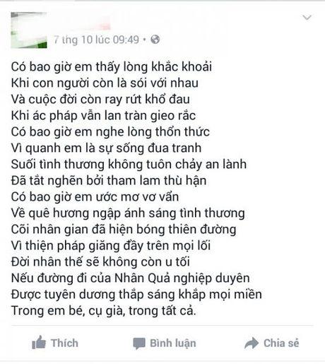 Vu nguoi phu nu tu thieu o Hue: Nan nhan viet tam thu tren facebook - Anh 1