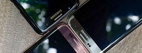 Galaxy S8: cum camera kep, cam bien van tay dua len man hinh, cong 4 phia , khong vien bezel? - Anh 1
