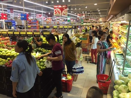 Hang Viet chiem 85% trong sieu thi - Anh 1