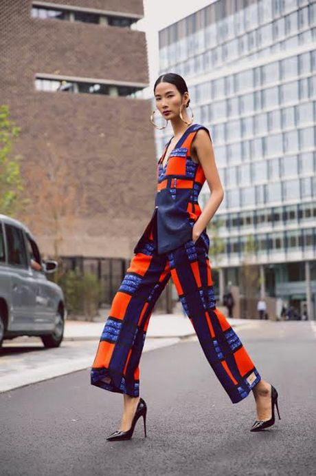 Hoang Thuy khoe style 'chat lu' tren duong pho London - Anh 6