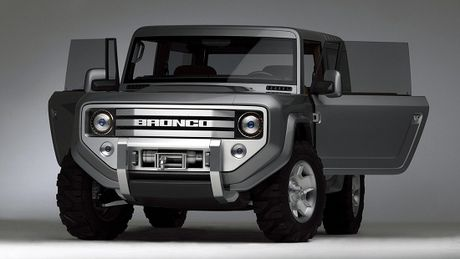 Huyen thoai Ford Bronco chuan bi hoi sinh - Anh 1