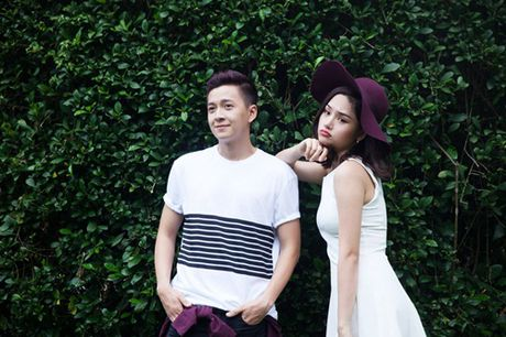 Tin hot showbiz: Miu Le hoi ngo Kien Huy, Ngoc Han goi cam voi ao dai - Anh 1