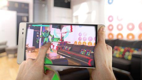 Google: Smartphone Project Tango se co mat vao thang 11 - Anh 1