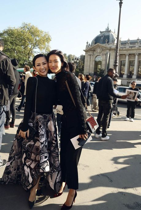 Nhung khoanh khac VIP cua Tram Nguyen tai Paris Fashion Week - Anh 5
