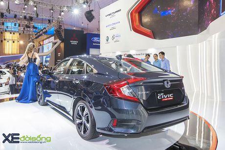 Ngam Honda Civic hoan toan moi, sedan thu hut nhat VMS 2016 - Anh 16