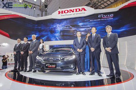 Ngam Honda Civic hoan toan moi, sedan thu hut nhat VMS 2016 - Anh 1