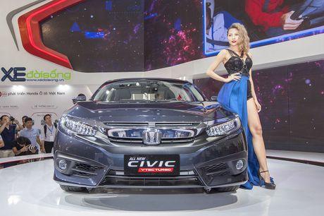 Ngam Honda Civic hoan toan moi, sedan thu hut nhat VMS 2016 - Anh 2