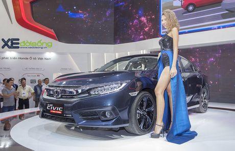 Ngam Honda Civic hoan toan moi, sedan thu hut nhat VMS 2016 - Anh 3
