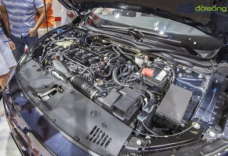 Ngam Honda Civic hoan toan moi, sedan thu hut nhat VMS 2016 - Anh 5