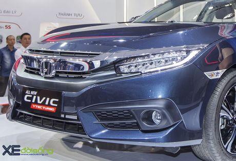 Ngam Honda Civic hoan toan moi, sedan thu hut nhat VMS 2016 - Anh 8