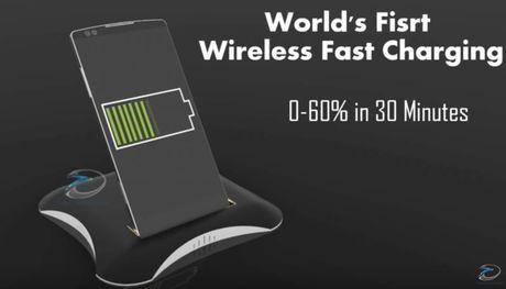 Ban dung LG G6 dau tien: man 4K, sac nhanh wireless - Anh 1