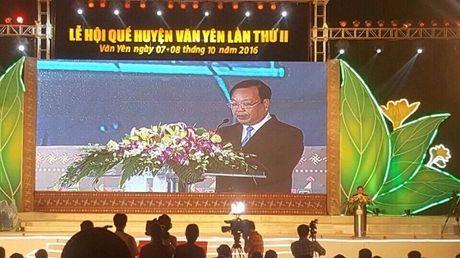 Yen Bai: Khai mac Le hoi Que Van Yen lan thu 2 - Anh 1