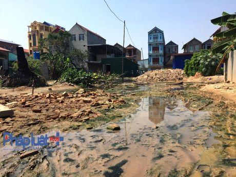 Bac Ninh: Dan mat duong di, chinh quyen chi xu ly tren giay - Anh 3