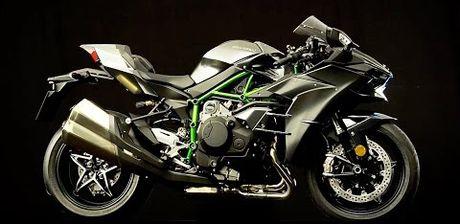 Kawasaki ra mat Ninja H2 Carbon 2017 phien ban dac biet - Anh 1