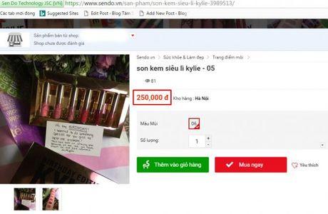 Set son kem li mini cua Kylie Jenner tran ngap Viet Nam, that gia lan lon! - Anh 9