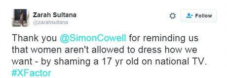 Simon Cowell 'hung gach' khi yeu cau thi sinh X-Factor thao makeup tren song truyen hinh - Anh 6
