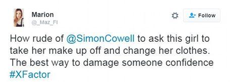 Simon Cowell 'hung gach' khi yeu cau thi sinh X-Factor thao makeup tren song truyen hinh - Anh 9