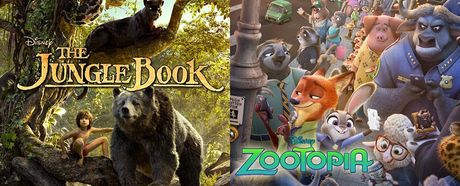 'Zootopia' va 'The Jungle Book' duoc vinh danh vi doanh thu khung - Anh 1