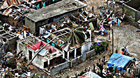 Gan 1.000 nguoi thiet mang o Haiti vi bao Matthew - Anh 2
