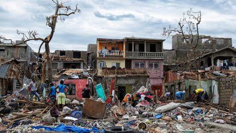 Gan 1.000 nguoi thiet mang o Haiti vi bao Matthew - Anh 3