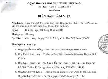 'Khong co hien tuong sat lo tai Nha may rac Da Phuoc' - Anh 2